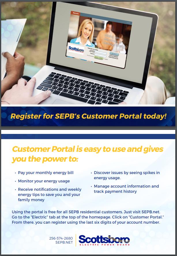 SEPB Customer Portal